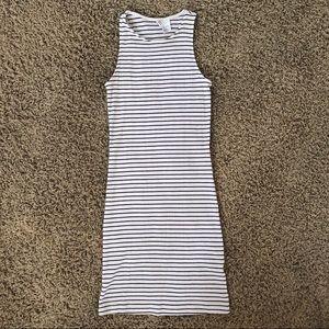 Stripe tight dress